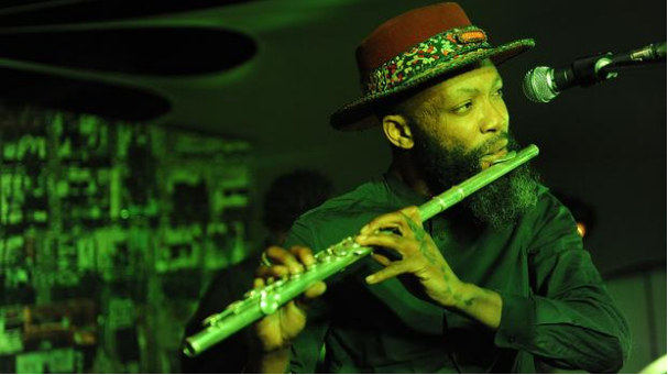 Constitution Hill: MULTI MAGIC: Urban Village frontman Tubatsi Moloi gave the audience a taste of his instrument playing during the group's live performance at Constitution Hill. (Image: Matthews Baloyi/ Independent Online)