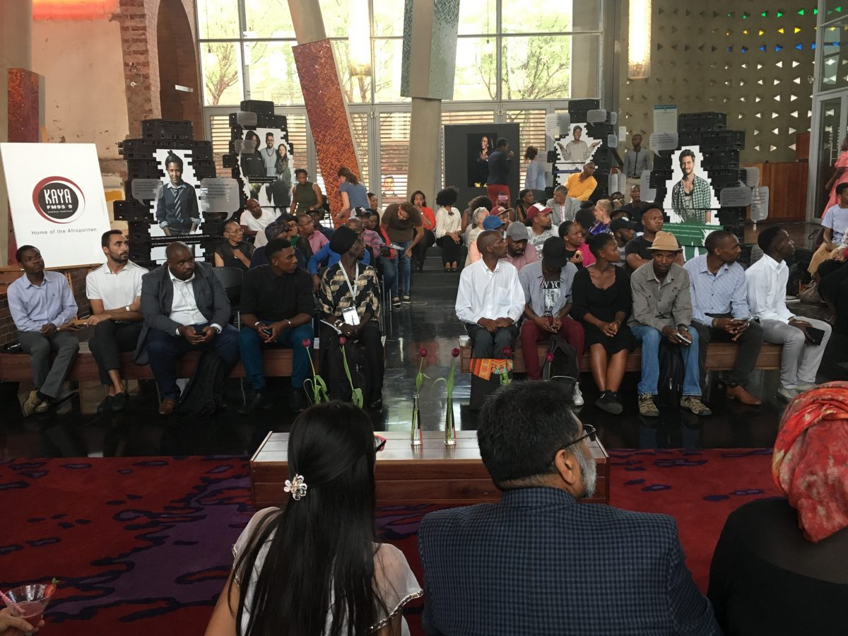 Constitution Hill: #Constitution20 saw the Constitutional Court foyer used as a place for people to gather and discuss issues relating to the Constitution, much like the court.