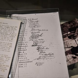 Constitution Hill: A Prisoner in the Garden exhibition