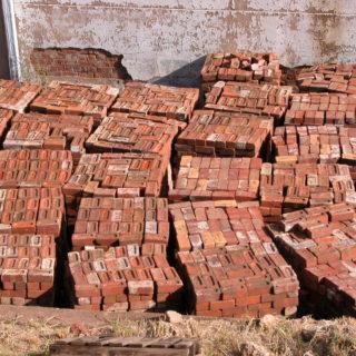 Constitution Hill: Awaiting Trial Block bricks