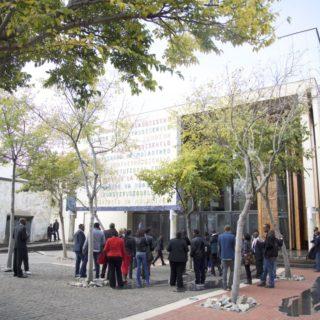 Constitution Hill: Constitutional Court architecture