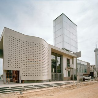 Constitution Hill: Constitutional Court under construction