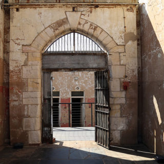 Constitution Hill: Entrance to Number Four isolation cells