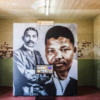 Constitution Hill: <em>Mandela Ghandi</em> exhibition