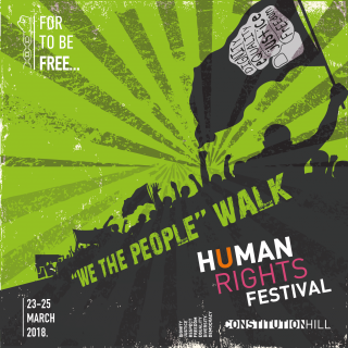 Constitution Hill: Hrf We The People Walk