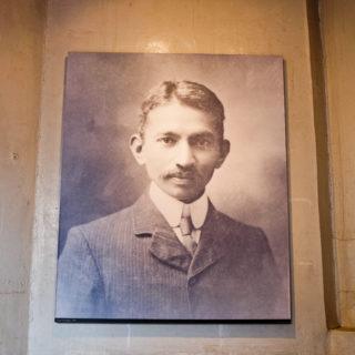 Constitution Hill: Mahatma Gandhi portrait