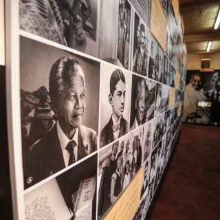 Constitution Hill: Mandela Gandhi exhibition