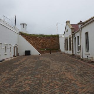 Constitution Hill: Marshalling courtyard