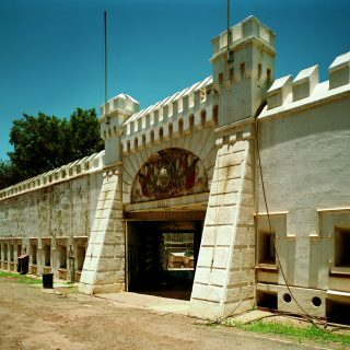 Constitution Hill: Old Fort before restoration