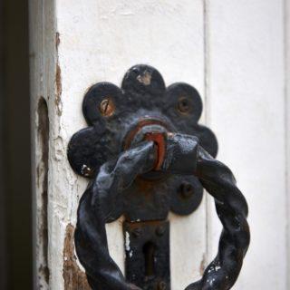 Constitution Hill: Old Fort door handle