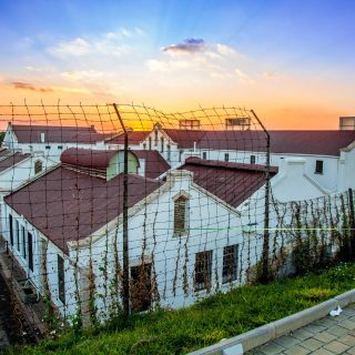 Constitution Hill: Old Fort sunset