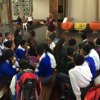 Constitution Hill: School children in court