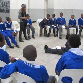 Constitution Hill: School group 2
