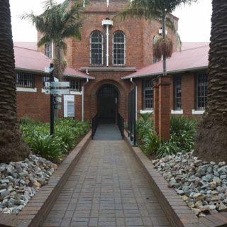 Constitution Hill: Womens Jail bell tower garden
