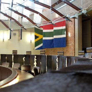 Constitution Hill: Constitutional Court Courtroom 0123