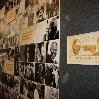 Constitution Hill:  <em>Mandela Gandhi</em> exhibition