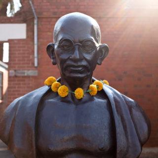 Constitution Hill: Ghandi statue