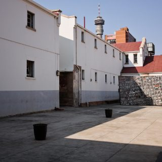 Constitution Hill: Old Fort Slovo Courtyard