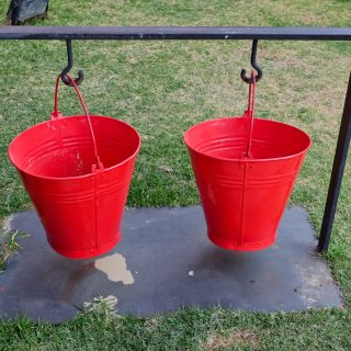 Constitution Hill: Fire buckets
