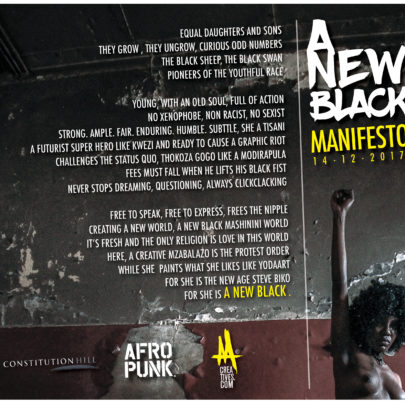 Constitution Hill: Anew Black Manifesto