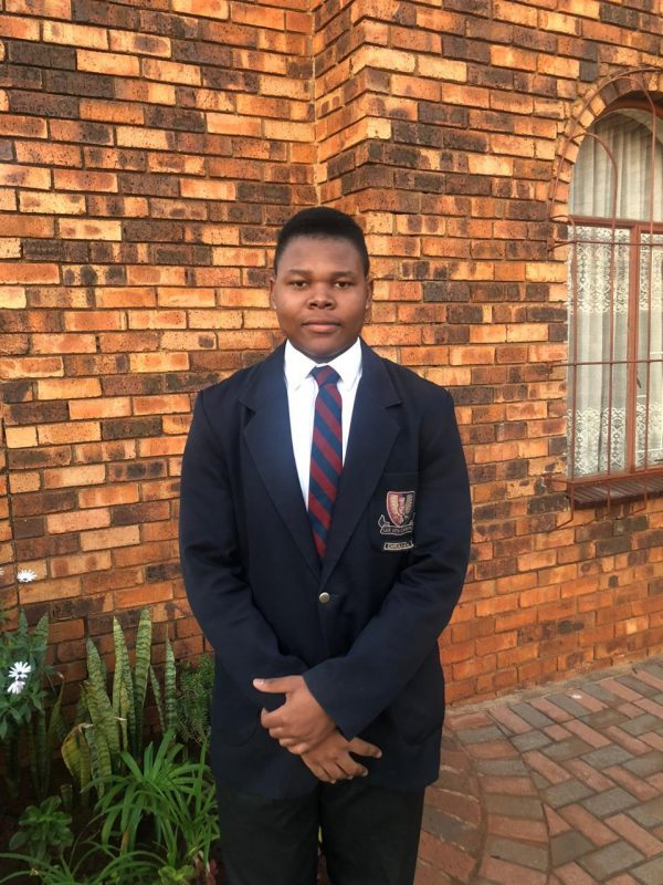 Constitution Hill: Kgosi Mashugane aged 17, co-mayer of the Johannesburg Junior city Council at st John's College