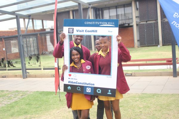 Constitution Hill: Learners who competed in the 2016 Constitution Hill Debating League at Constitution Hill.