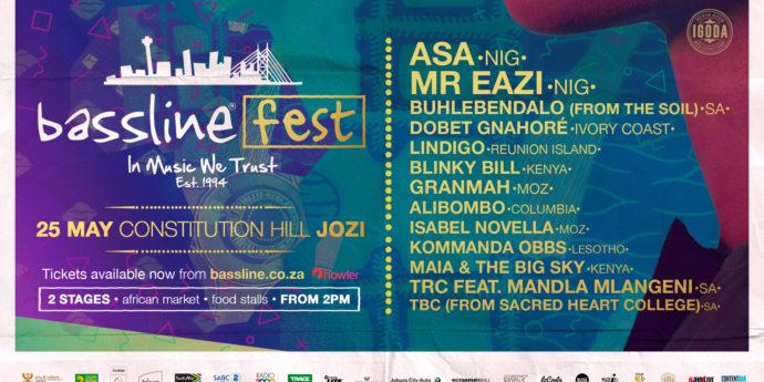 Constitution Hill: Bassline Fest Lineup 1920X1080 02 Banner