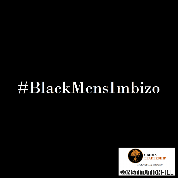 Constitution Hill: Black Mens Imbizo Logo