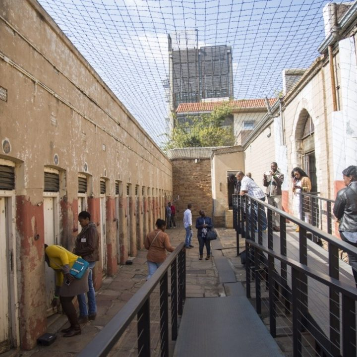 Constitution Hill: Number 4 isolation cells visitors