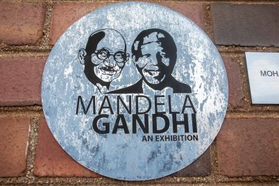 Constitution Hill: This exhibition highlights the similarities between Nelson Mandela and Mahatma Ghandi.